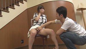 Japanese Teen Oil Fingering Her Tight Pussy